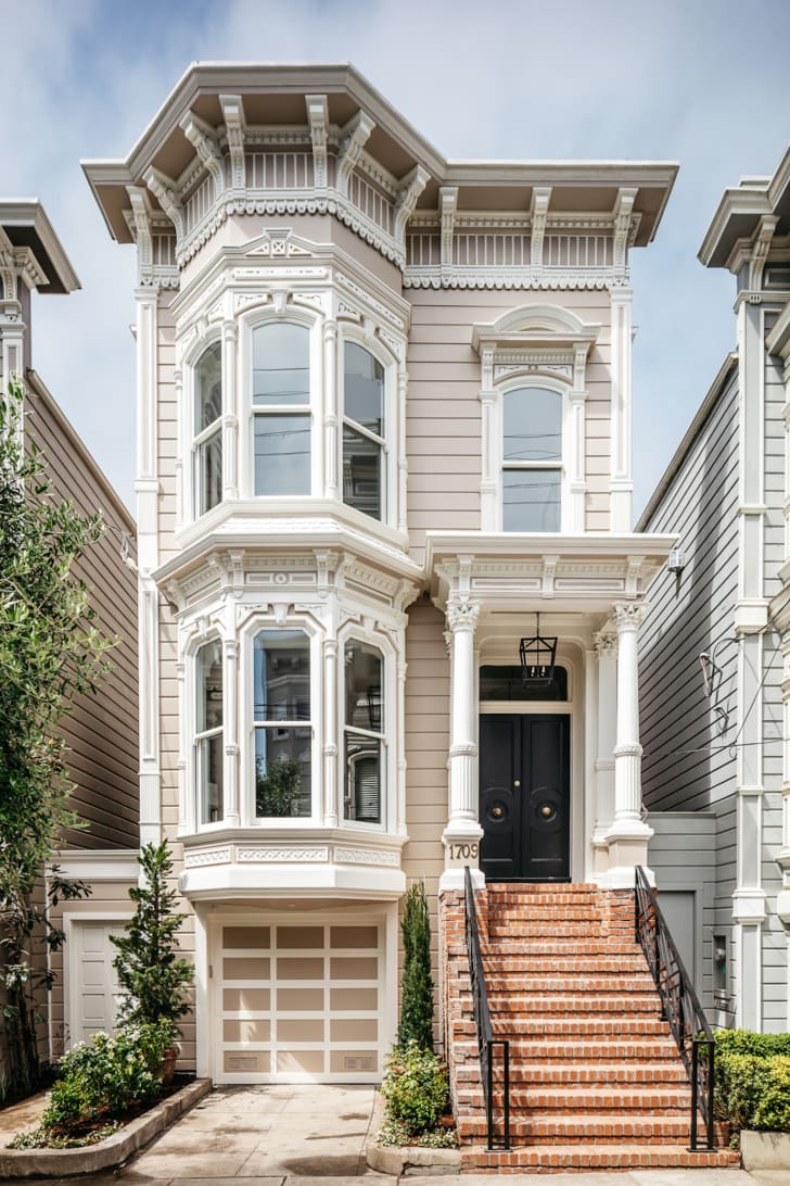 The exterior of the San Francisco home that was used in the opening of 'Full House'