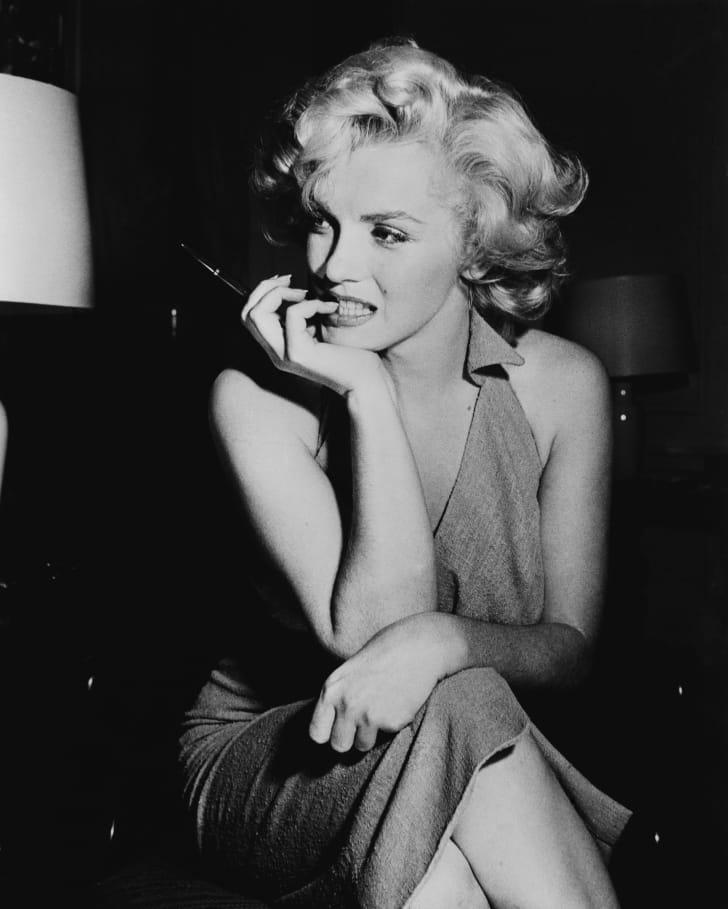 Marilyn Monroe circa 1952.
