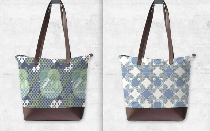Bags with Frank Lloyd Wright design