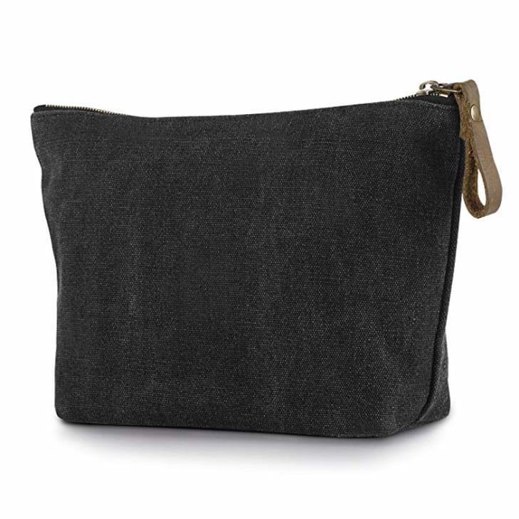 A small canvas bag