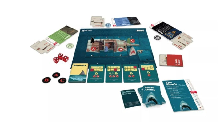 Jaws board game.
