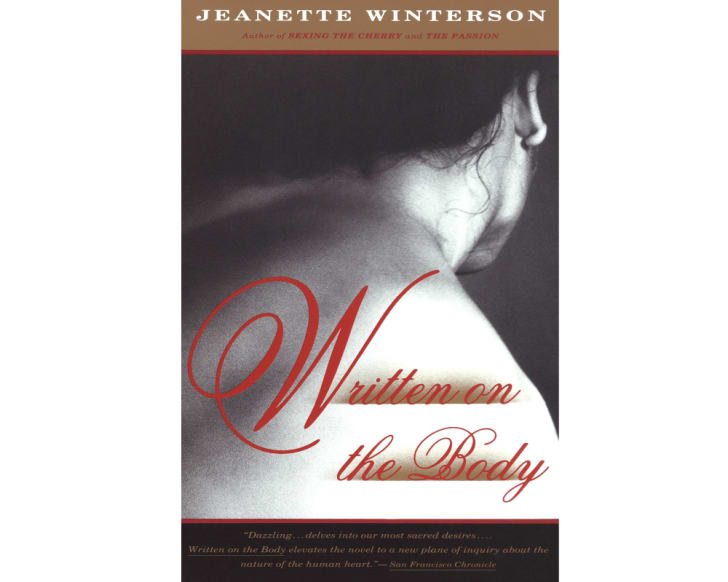 The cover of 'Written on the Body'