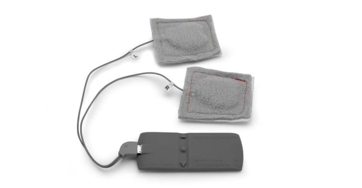 The speaker components of SleepPhones