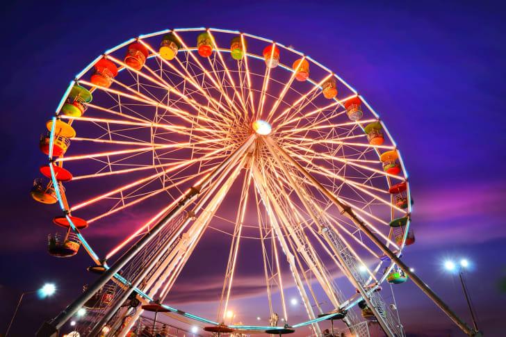 A Ferris Wheel at the Texas State Fair