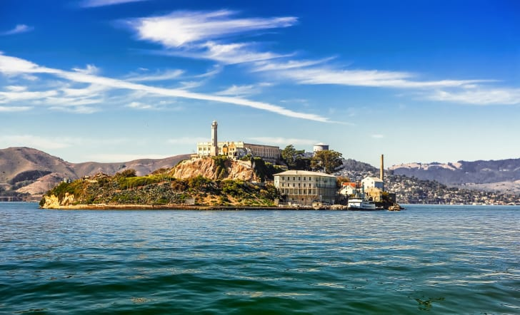 Alcatraz Island in California