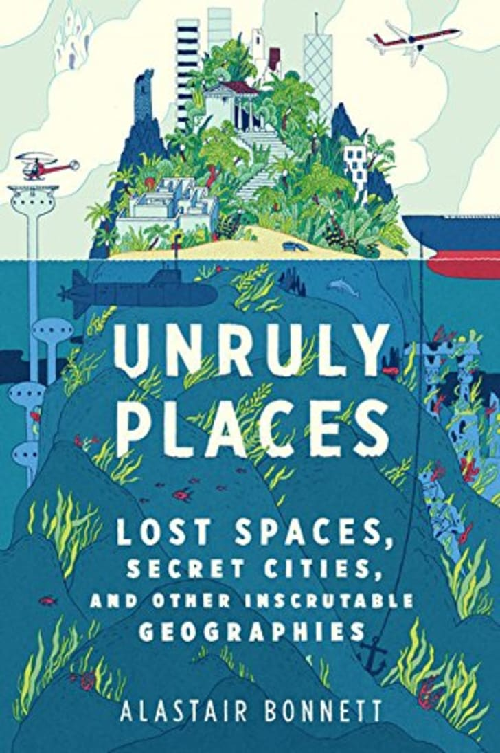 The cover of Alastair Bonnett's book 'Unruly Places.'