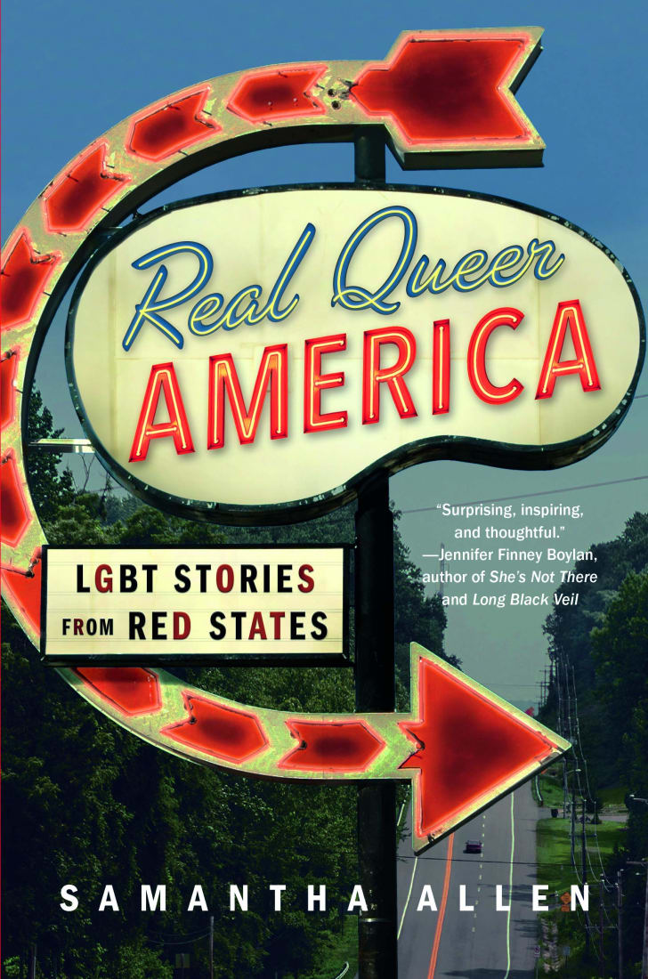 The cover of Samantha Allen's book 'Real Queer America.'