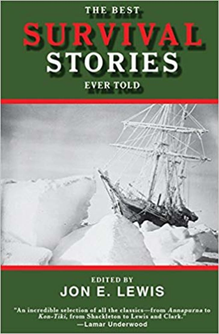 An image of the book 'The Best Survival Stories Ever Told.'