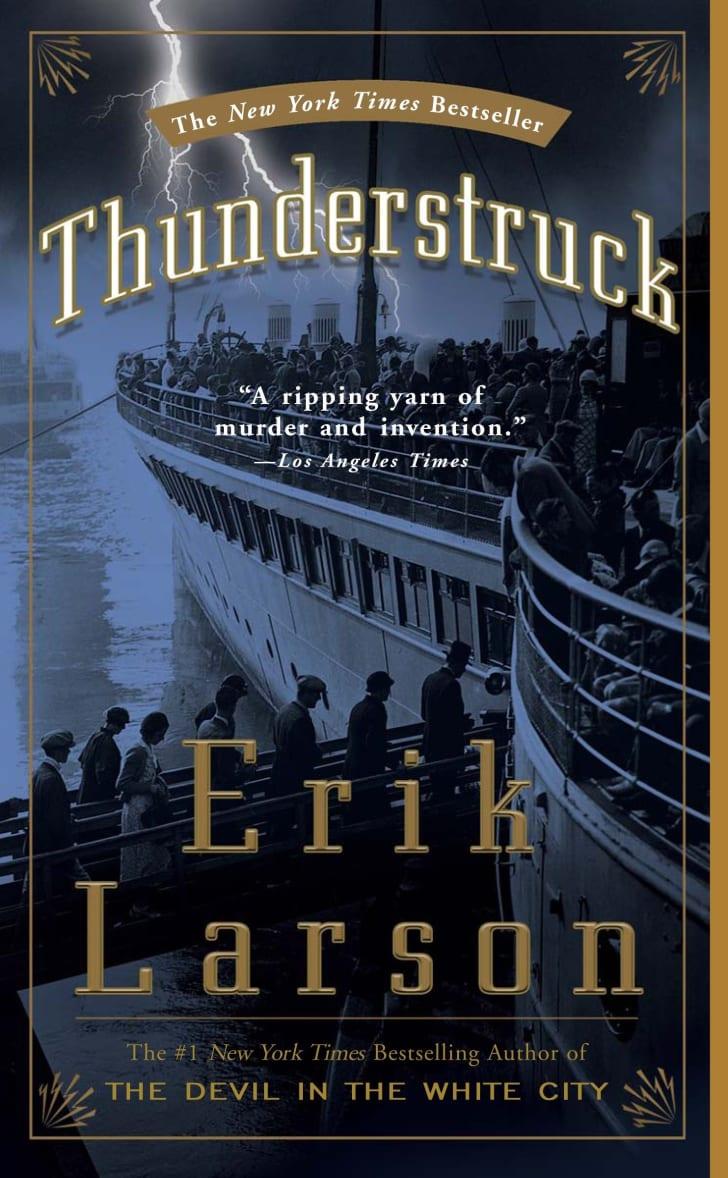 The cover of Erik Larsen's book 'Thunderstruck.'