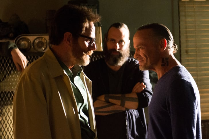 Walter White (Bryan Cranston) and Uncle Jack (Michael Bowen) in 'Breaking Bad'
