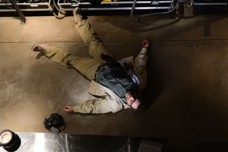 Bryan Cranston in the 'Breaking Bad' series finale