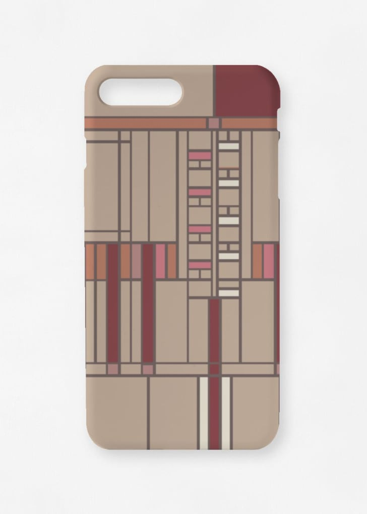 Phone case with Frank Lloyd Wright design