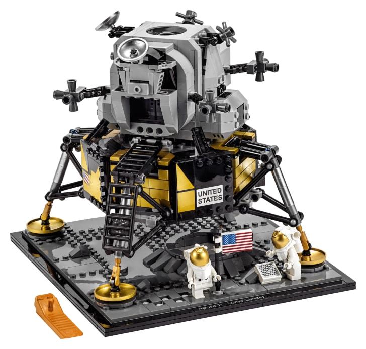 The LEGO Creator Expert NASA Apollo 11 Lunar Lander