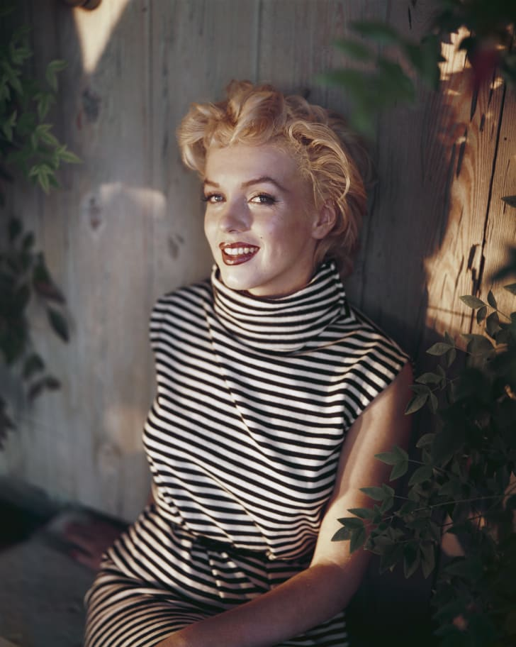Marilyn Monroe circa 1954.
