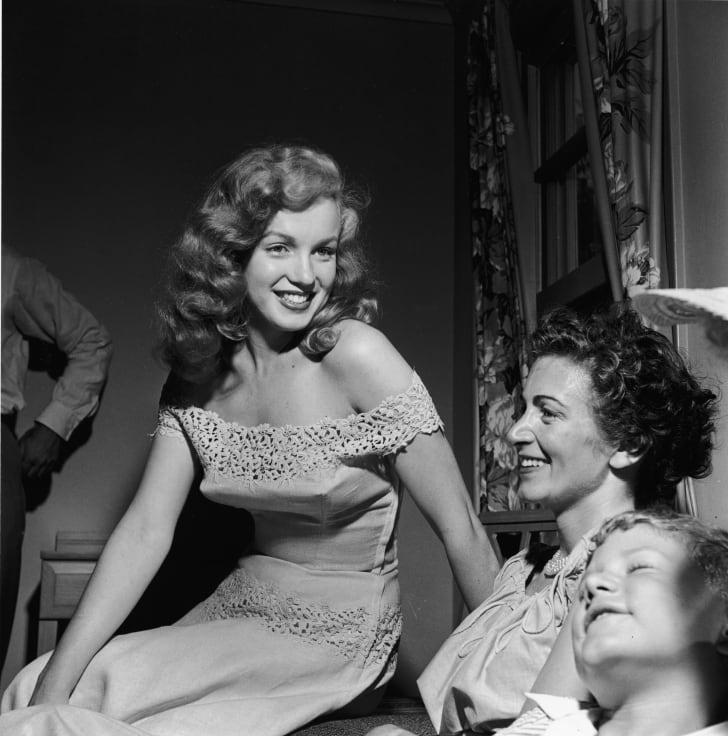 Marilyn Monroe in June 1949.