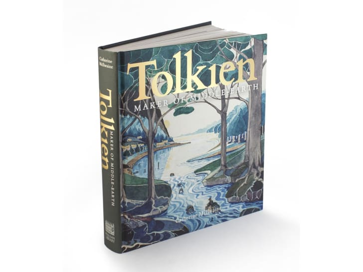 The cover of 'Tolkien: Maker of Middle-earth'