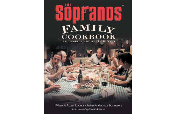 The cover of 'The Sopranos Family Cookbook'
