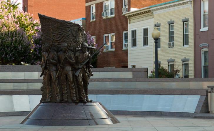 African American Civil War Memorial, Arlington, Virginia
