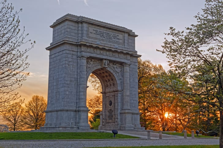 National Memorial Arch, Valley Forge, Pennsylvania