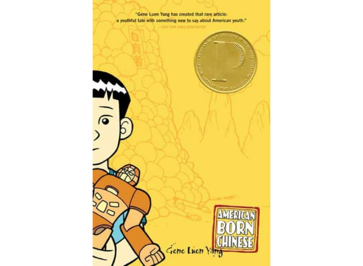 The cover of 'American Born Chinese' by Gene Luen Yang