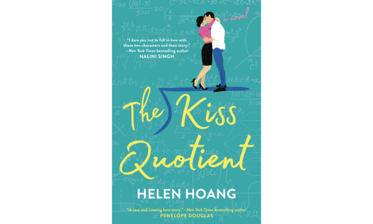 The cover of 'The Kiss Quotient' by Helen Hoang