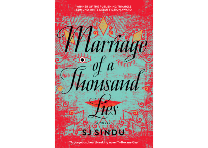 The cover of 'Marriage of a Thousand Lies' by SJ Sindu