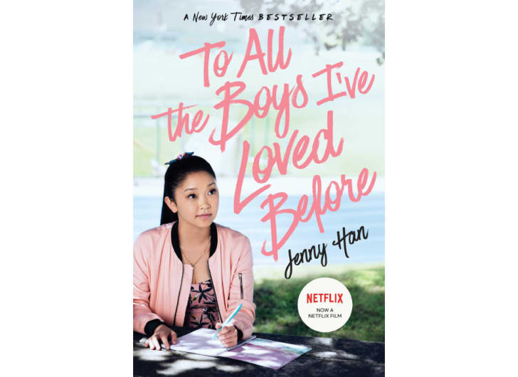 The cover of 'To All the Boys I've Loved Before' by Jenny Han