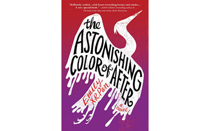 The cover of 'The Astonishing Color of After' by Emily X.R. Pan