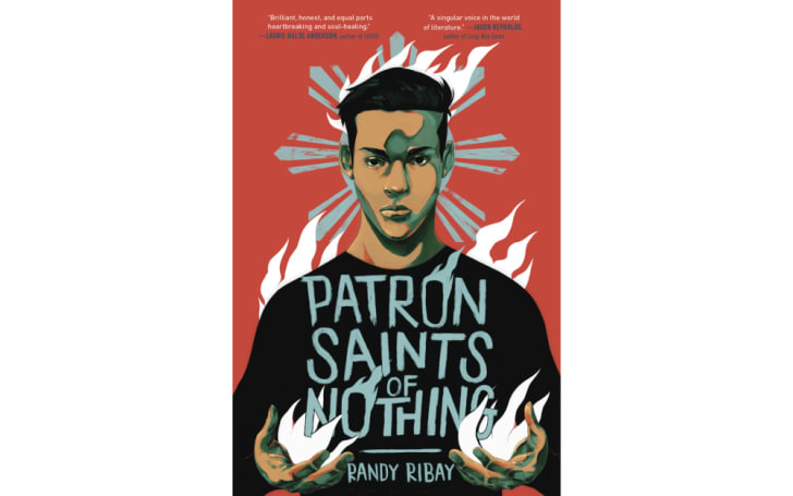 The cover of 'Patron Saints of Nothing' by Randy Ribay
