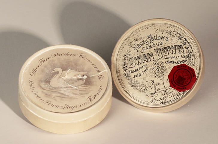 A Victorian facial cream containing lead