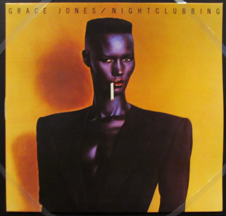 The cover of Grace Jones's 1981 album, Nightclubbing.