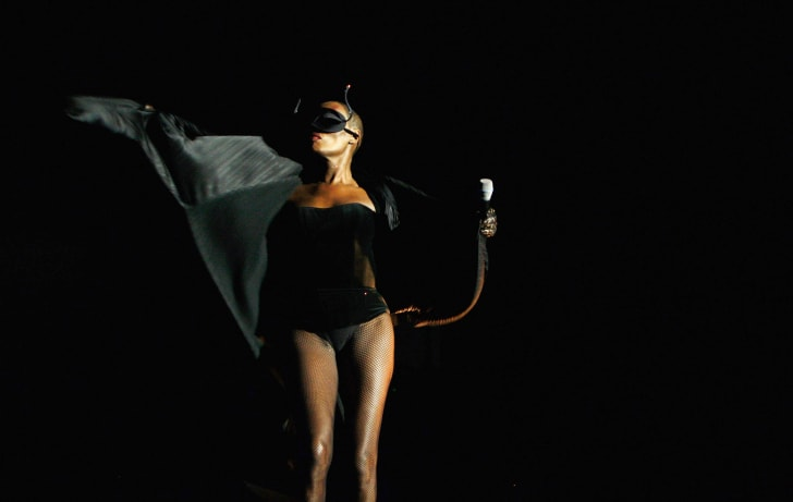 Grace Jones performs in Sydney, Australia in 2009.