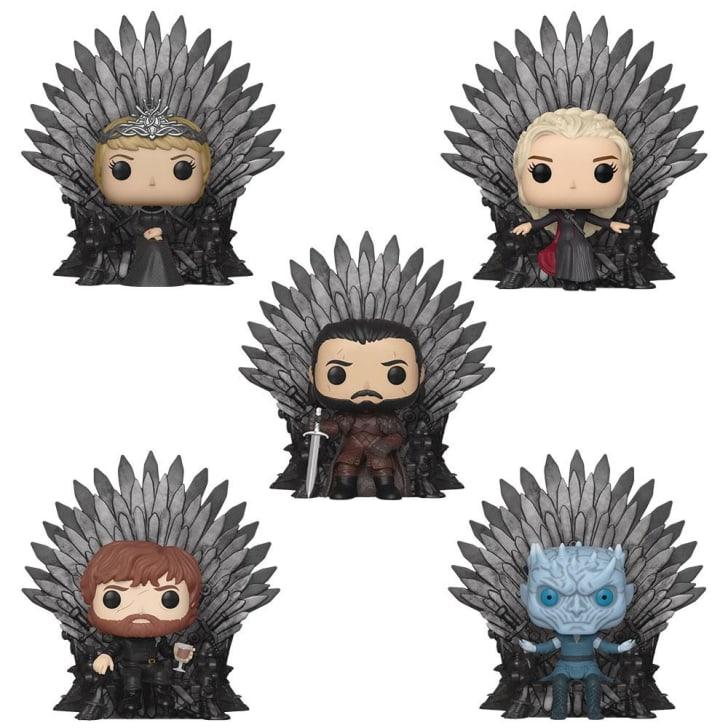Funko's Iron Throne Pop! set of five