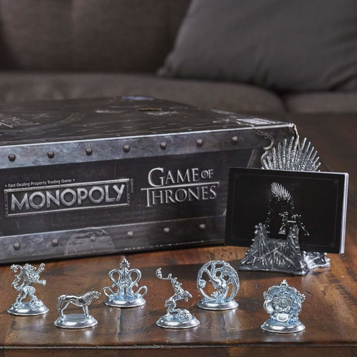 'Game of Thrones Monopoly' game board