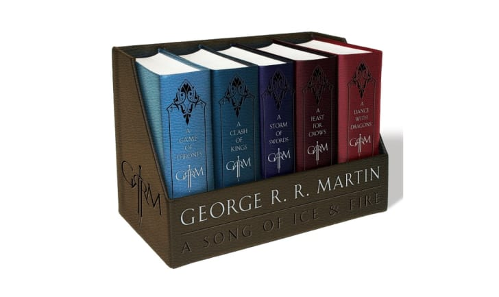 Bantam's 'A Song of Ice and Fire' book series