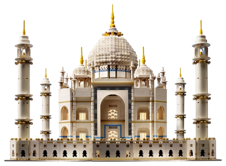 LEGO Taj Mahal set.