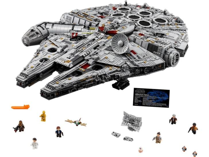 LEGO Millennium Falcon Star Wars set.