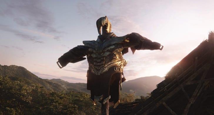 A photo of Thanos's armor in Avengers: Endgame (2019)