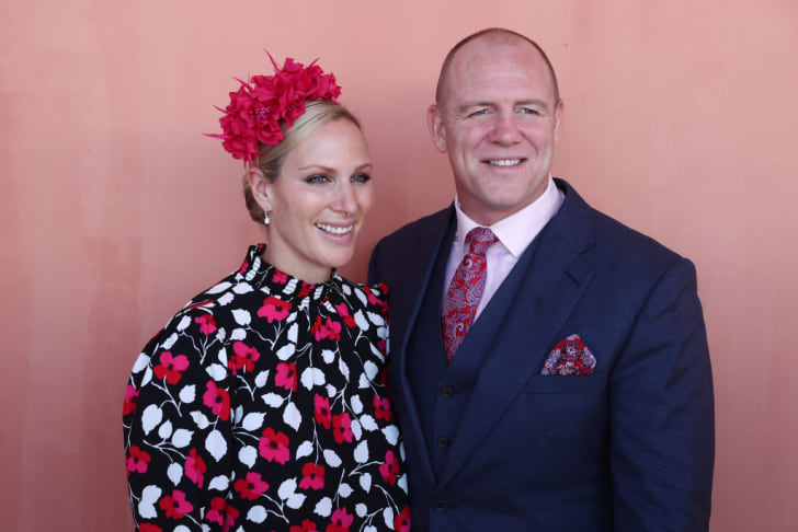 Mike and Zara Tindall—parents to Lena—attend the Magic Millions Raceday at the Gold Coast Turf Club on January 12, 2019 in Gold Coast, Australia