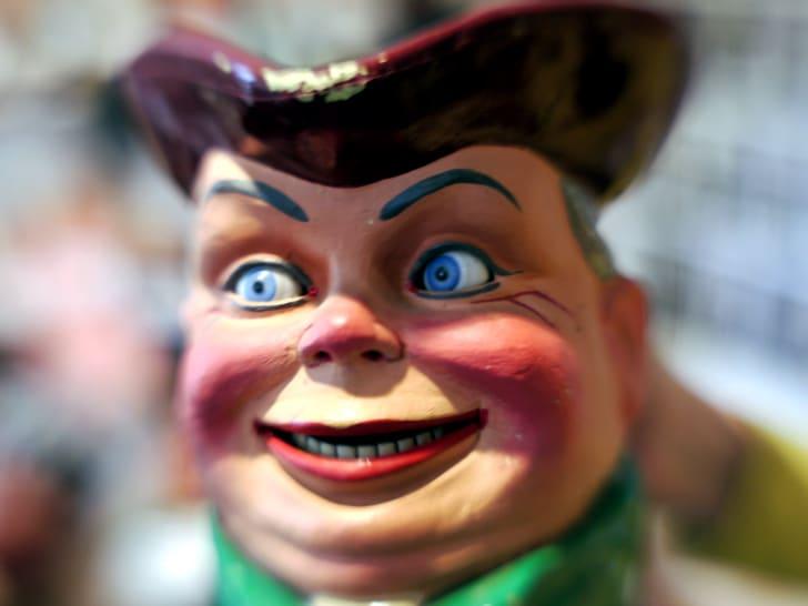A creepy doll