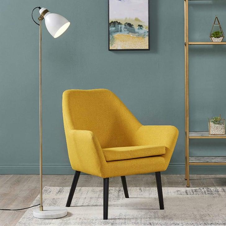 A yellow Versanora Divano armchair