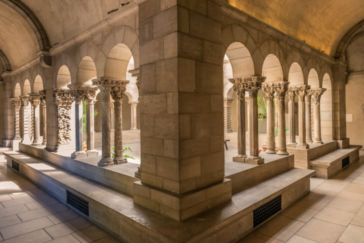 A section of the Cloisters