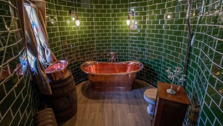 Bathroom of Hagrid's hut