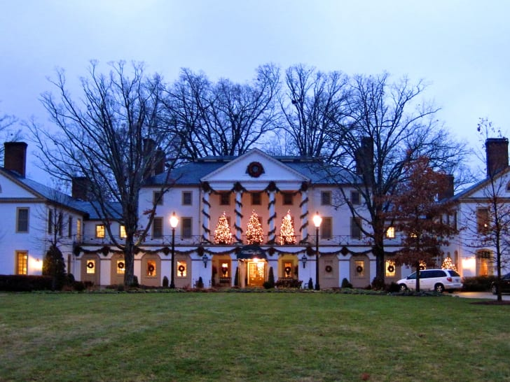 The Williamsburg Inn at Christmastime.