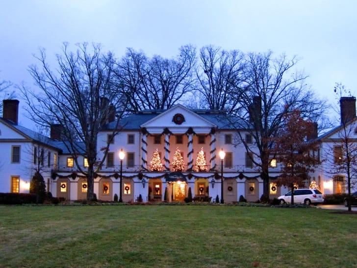 The Williamsburg Inn at Christmastime.