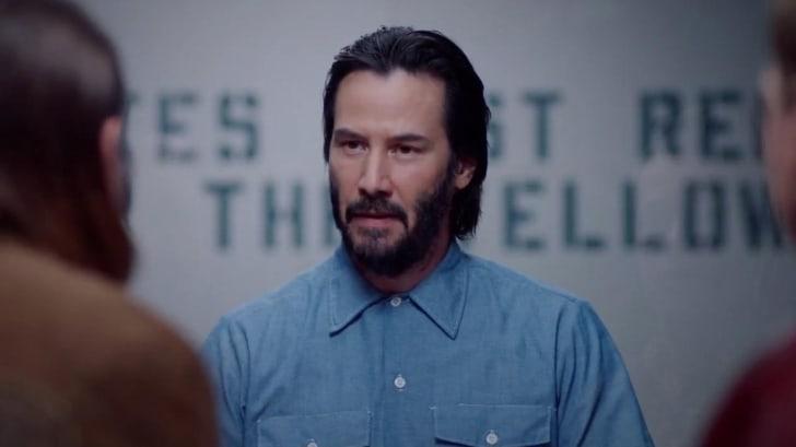 Keanu Reeves in 'Swedish Dicks'