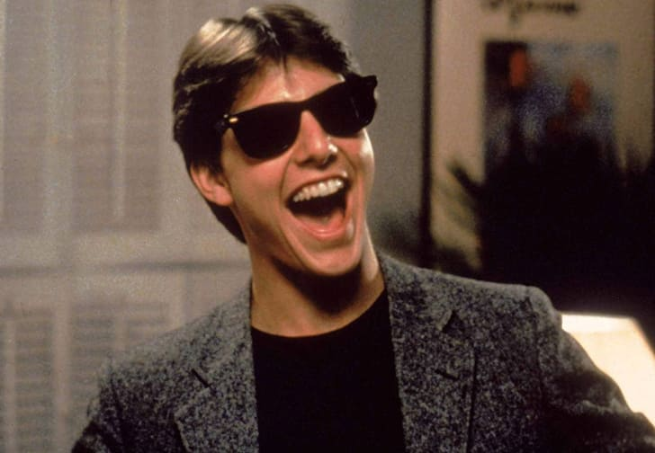 Tom Cruise stars in 'Risky Business' (1983)