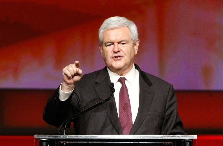 Newt Gingrich in 2009