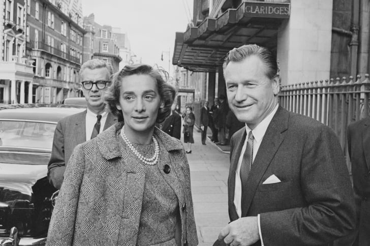 Vice President Nelson Rockefeller and his wife, Happy Rockefeller, circa 1963.