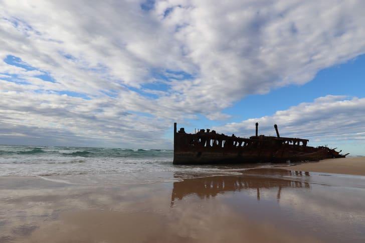 Fraser Island S.S Maheno Shipwreck